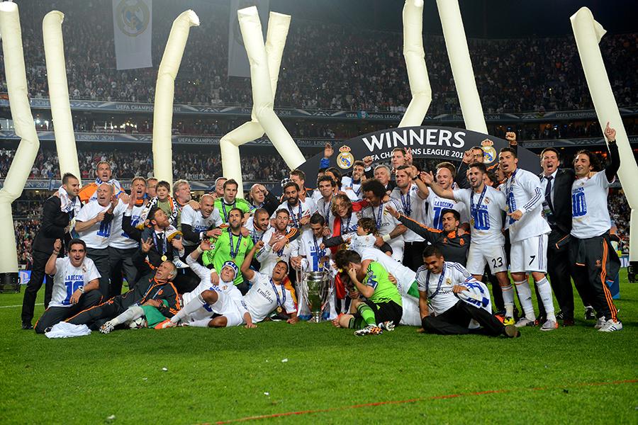 Champions: fa festa solo plaza de Cibeles