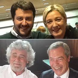 Il gioco delle coppie tra le fila euroscettiche