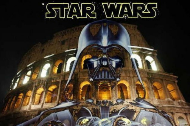 Roma: primo Star wars day al Colosseo