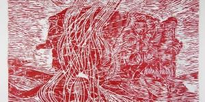 239 Collemaggio, 2013, xilografia a colori (2)