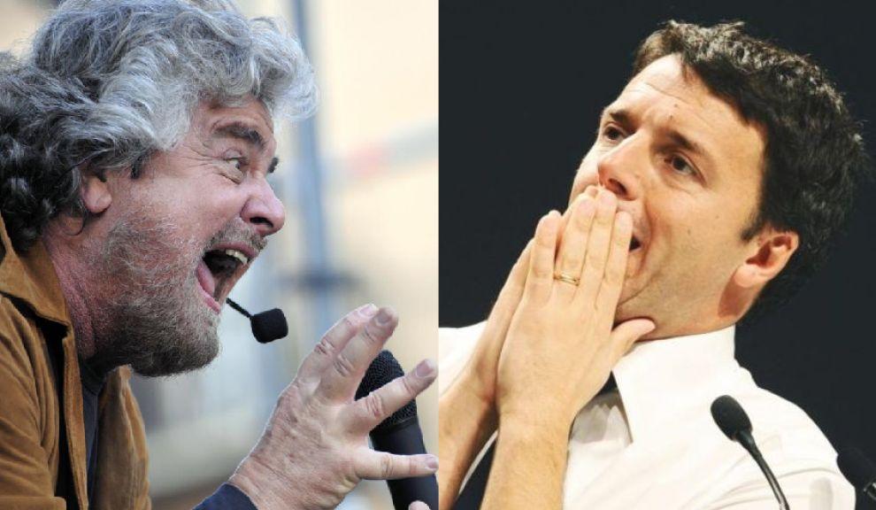 Renzi-Grillo, duello sulle riforme