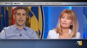 Federico Pizzarotti ospite da Lilli Gruber