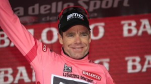 Cadel Evans, anche lui in rosa per quattro tappe
