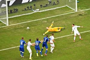 Hart è superato: Marchisio-gol per l'1-0