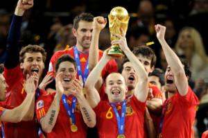 La Spagna campione del mondo 2010