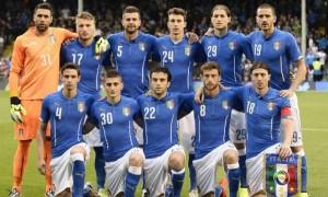 L'Italia schierata al Craven Cottage di Londra contro l'Irlanda