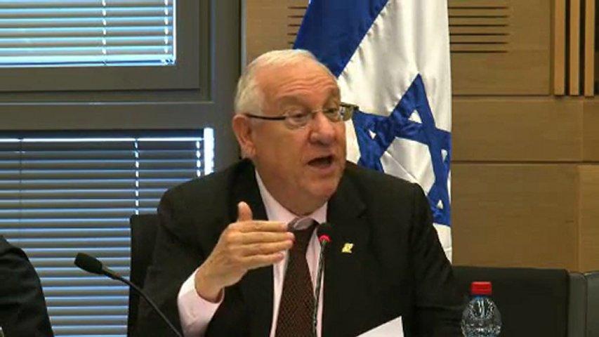 Rivlin è il nuovo presidente d'Israele