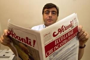 "Valter Lavitola, ex direttore di ""Avanti!"""
