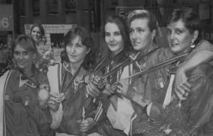Bianchedi, Trillini, Zalaffi, Bortolozzi, Vaccaroni: l'inizio dell'epopea con l'oro di Barcellona '92