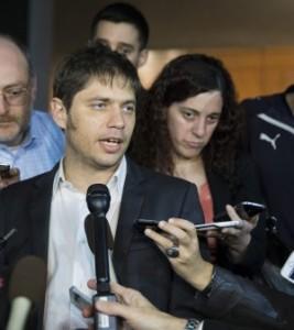 Il ministro dell'Economia argentino, Axel Kicilloff