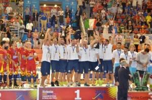 L'Italia dell'hockey su pista è salita sul tetto d'Europa davanti a Spagna e Portogallo