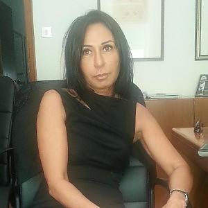 """La """"dama nera"""", Claudia Minutillo"""