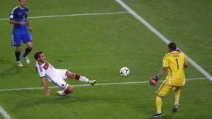 Il gol-partita di Mario Goetze