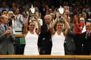 Le Cichi alzano le coppe : Wimbledon è azzurro!