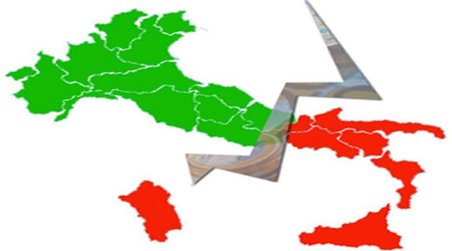 Indagine Svimez: Italia spaccata, crolla il Pil nel Sud