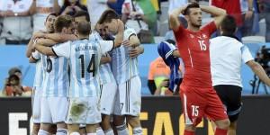 Festa argentina e disperazione Dzemaili