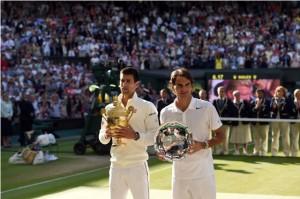 Nole e Roger: oggi una finale epica
