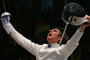 Enrico Garozzo, bronzo nella spada individuale