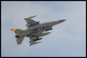 Un aereo militare israeliano