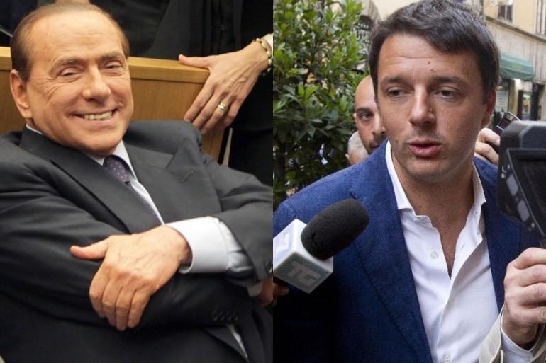 Renzi-Berlusconi: nuova legge elettorale in Senato prima dell'estate