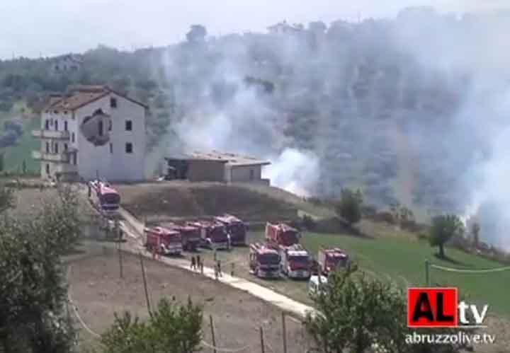 Esplode una fabbrica di fuochi d'artificio vicino Tagliacozzo