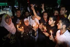 Gaza piombata nell'oscurità