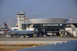"L'aeroporto ""Ben Gurion"" di Tel Aviv"