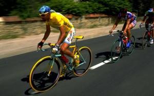 Marco Pantani trionfatore al Tour '98