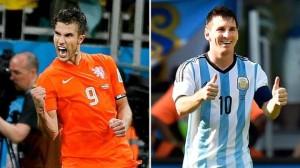 Van Persie-Messi, un duello che non c'è stato: ambedue impalpabili