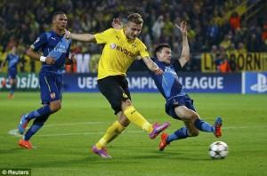 Immobile apre le danze in Borussia-Arsenal