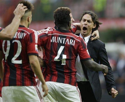 Una buona Lazio regala la vittoria a SuperPippo. Delude l'Inter. Napoli in extremis