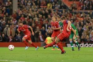 Il rigore decisivo di capitan Gerrard