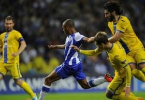 Il secondo dei tre gol di Brahimi al Bate