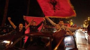 Caroselli albanesi lungo tutti i balcani