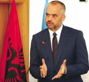 Il premier albanese Edi Rama