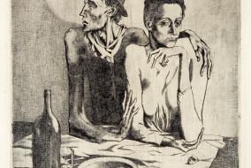 Il-Pasto-Frugale-incisione-allacquaforte-1904
