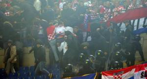 Il capodanno croato si ferma solo con l'intervento delle forze dell'ordine