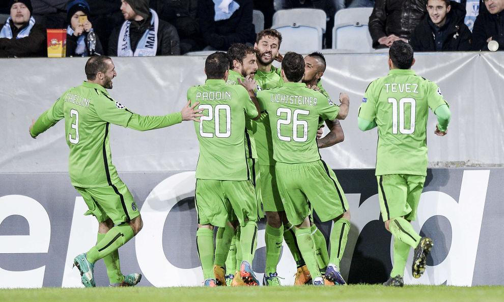 Champions: qualificazione ad un passo per la Juve, più complicata per la Roma