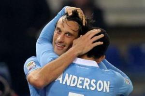 Mauri e Felipe Anderson: la Lazio torna terza