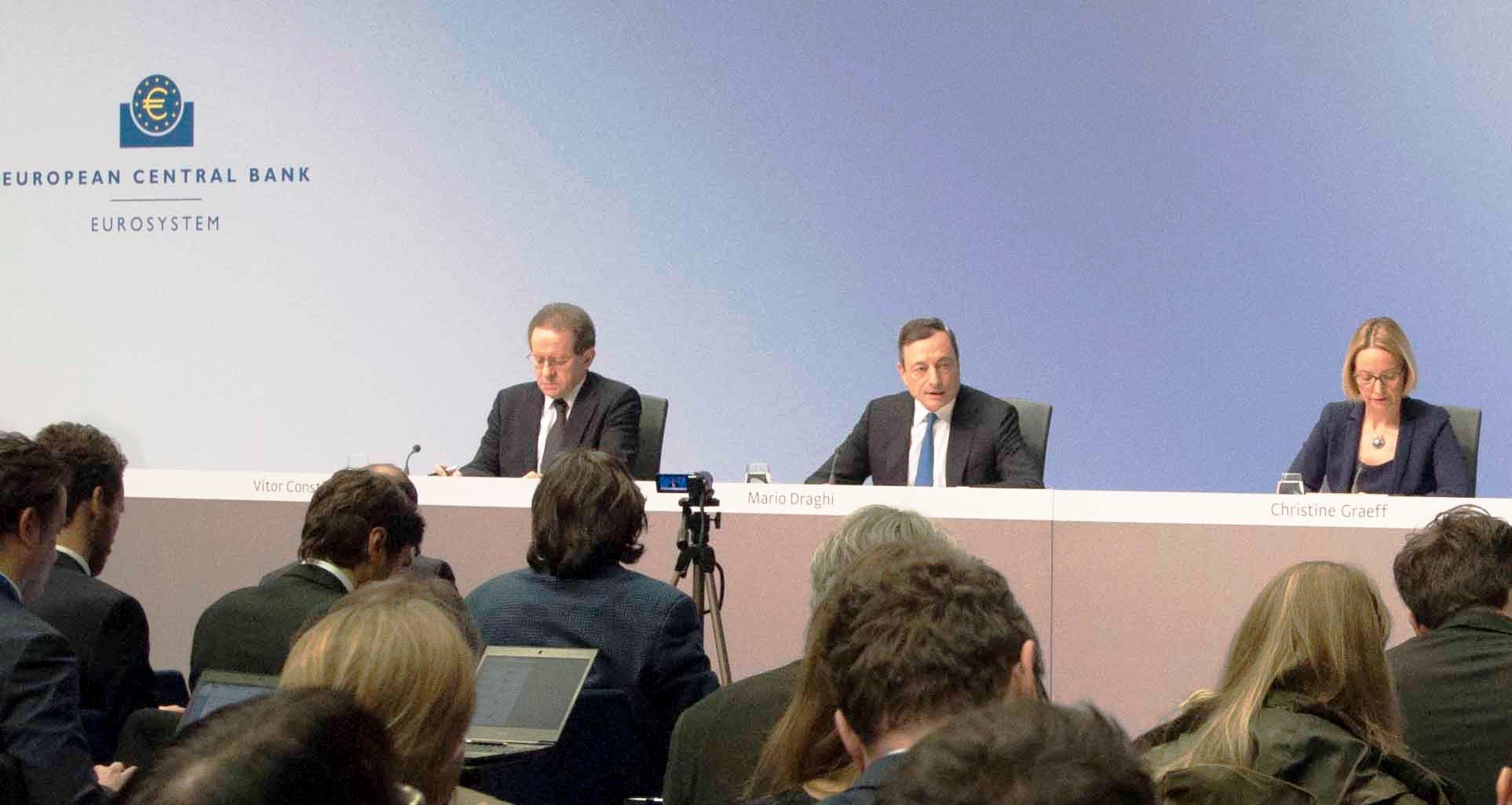 Draghi, via libera ad acquisto bond per oltre1000 mld di euro