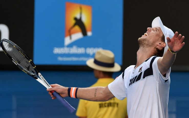 Impresa Seppi in Australia: Federer k.o. in 4 set!