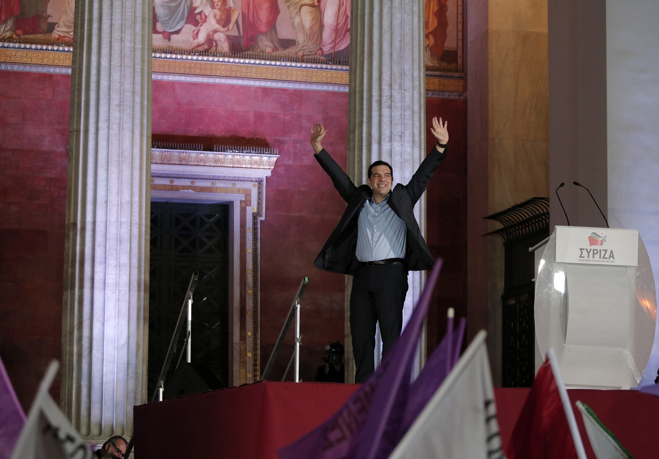Grecia, sinistra trionfa.Tsipras il nuovo premier
