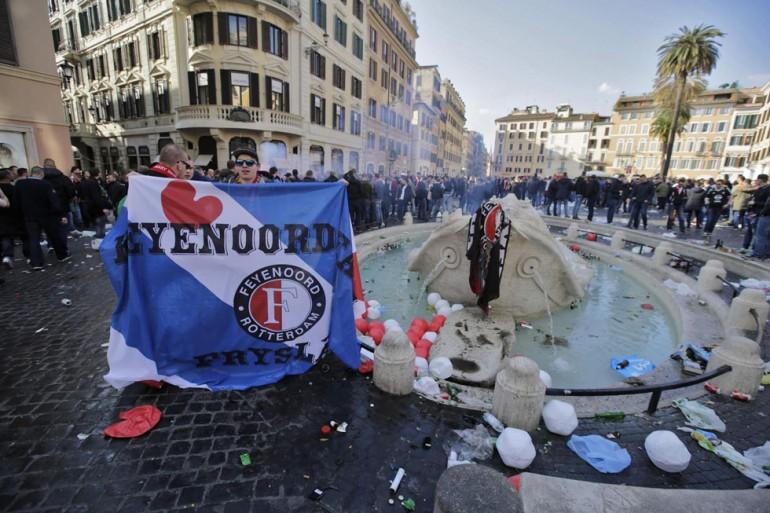 Roma città aperta....ai vandali