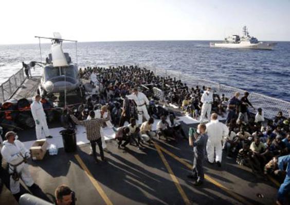Sono 330 i migranti morti nel Canale di Sicilia