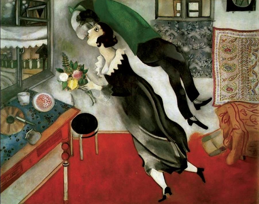 Chagall al Chiostro del Bramante