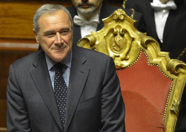 """Falso in Bilancio al Senato. Grasso: """"Alleluia!"""""""