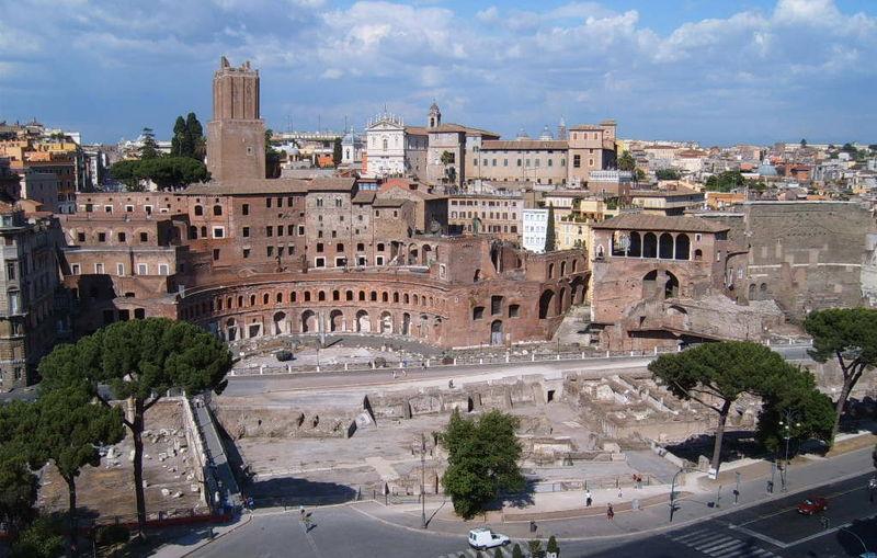 Foro di Traiano, Marino ancora a piedi
