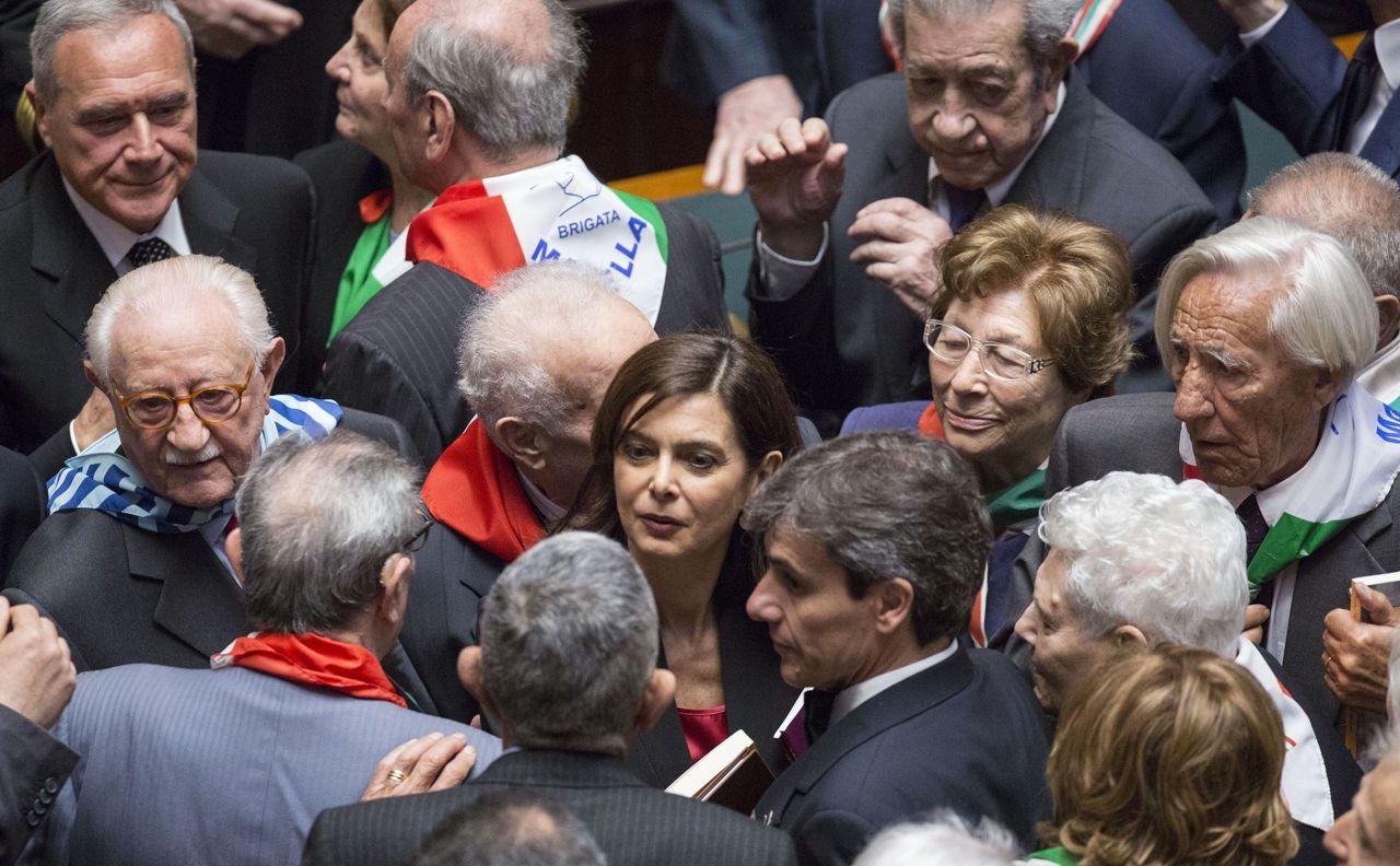 Boldrini, la talebana della Resistenza