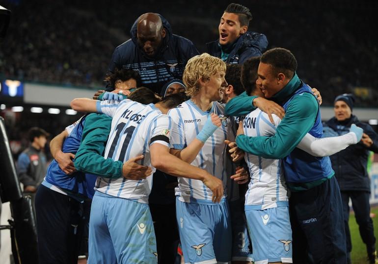 E' una Lazio che non si ferma più: decide Lulic 79