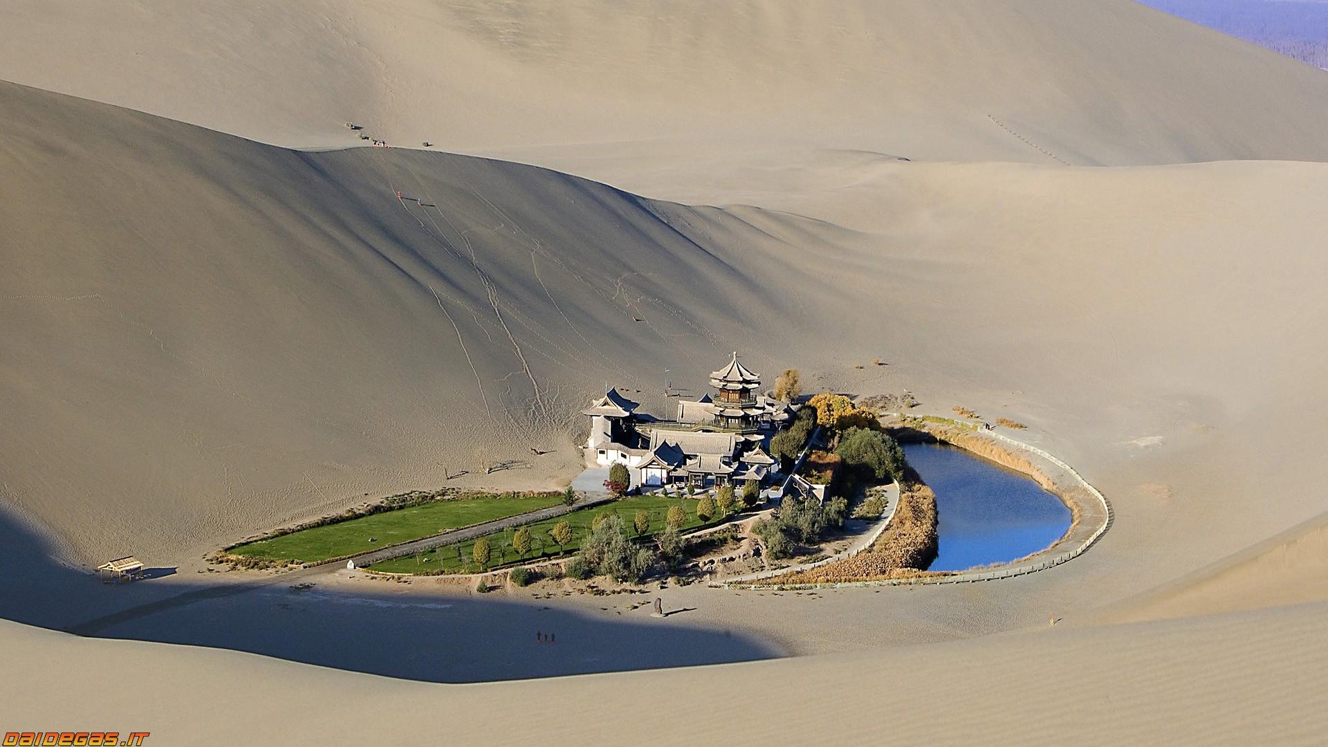 La felicità? un sorso d'acqua nel deserto
